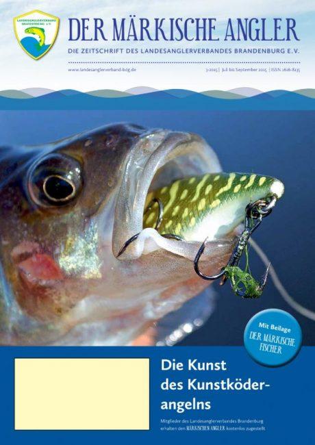 """""""Der Märkische Angler"""" (3/2015)"""