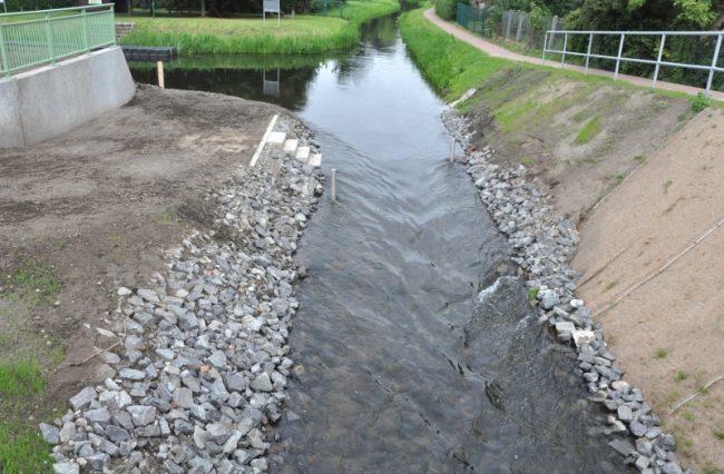 Einweihung Fischaufstiegsanlage an der Ucker in Torgelow