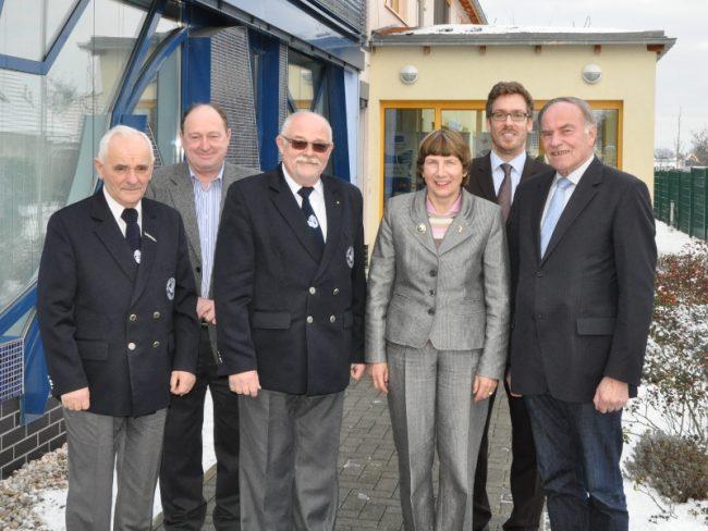 LAVB begrüßt Vertreter des Deutschen Angelfischerverbandes und des Polnischen Anglerverbandes in seiner Geschäftsstelle