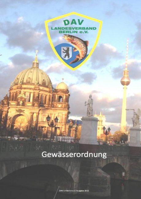 Neue Gewässerordnung Berlin