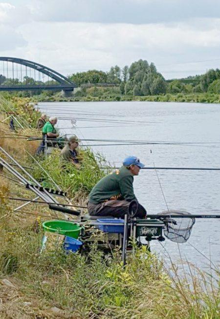 Landeshegefischen Männer und Frauen
