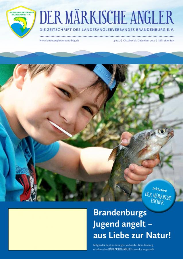 """Neue Ausgabe """"Der Märkische Angler"""""""