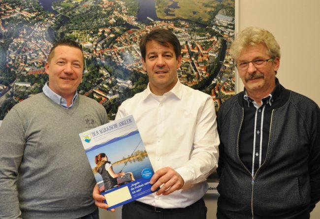 Besuch beim neu gewählten Bürgermeister der Stadt Brandenburg