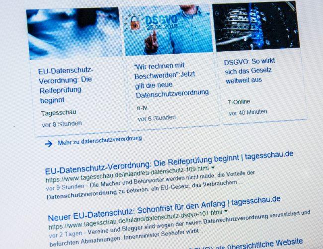 Neue Datenschutzverordnung