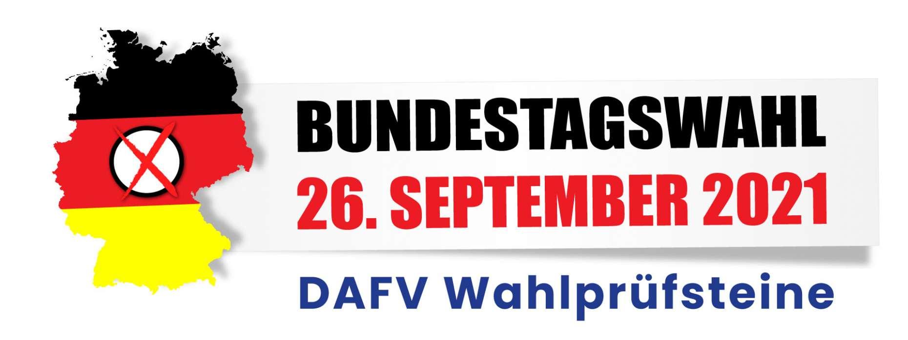 Wahlprüfsteine DAFV